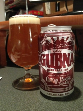 Oskar Blues - Gubna Imperial IPA