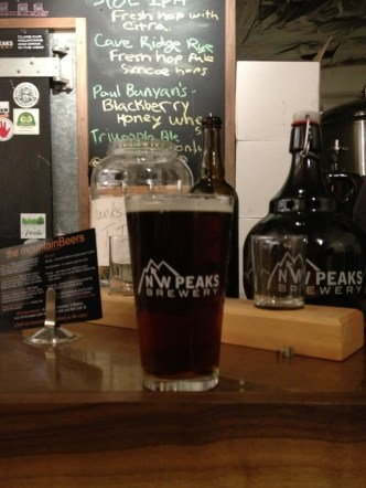 NW Peaks Brewery - Redoubt Red
