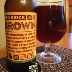 489. Red Brick Brewing – Brown Ale