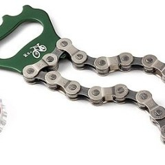 Giveaway: Bike Chain Bottle Openers