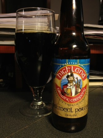 517. Highland Brewing Co - Oatmeal Porter