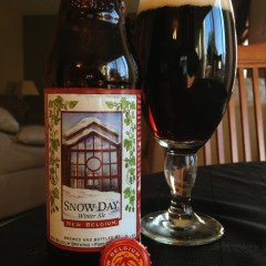 524. New Belgium Brewing – Snow Day Winter Ale