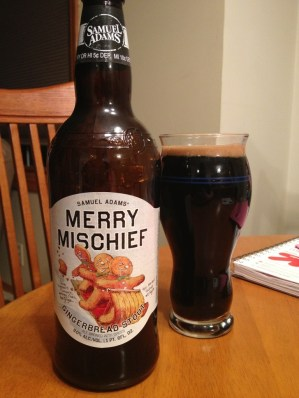 528. Samuel Adams - Merry Mischief Gingerbread Stout