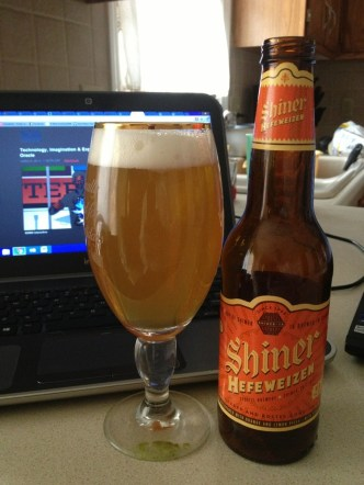 554. Spoetzl Brewery - Shiner Hefeweizen