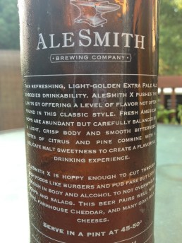 591. Alesmith Brewing - X Extra Pale Ale