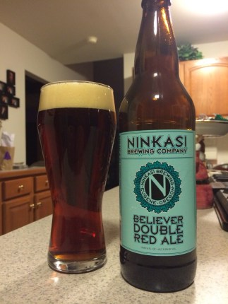 641. Ninkasi Brewing Co. - Believer Double Red Ale