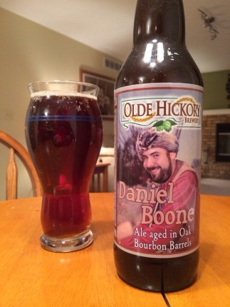 679. Olde Hickory Brewery - Daniel Boone Ale aged in Oak Barrels