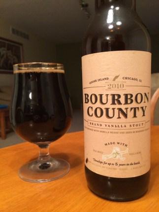 693. Goose Island - Bourbon County Brand Vanilla Stout 2010