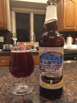756. The Grand Canyon Brewing Co. - Winter Bourbon Barrel Bomber