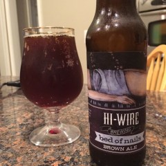 771. Hi-Wire Brewing – Bed of Nails Brown Ale