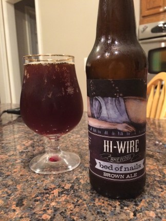 771. Hi-Wire Brewing - Bed of Nails Brown Ale