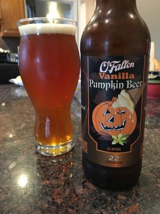 790. O'Fallon Brewery - Vanilla Pumpkin Beer