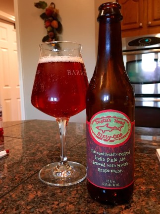 791. Dogfish Head - Sixty-One IPA