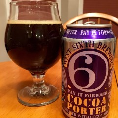 802. West Sixth Brewing – Pay it Foward Cocoa Porter