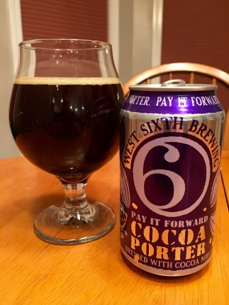 802. West Sixth Brewing - Pay it Foward Cocoa Porter
