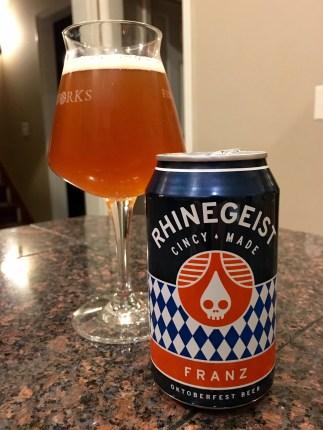 806. Rhinegeist Brewery - Franz Oktoberfest