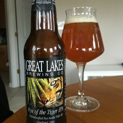 808. Great Lakes Brewing – Rye of the Tiger IPA