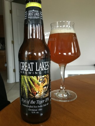 808. Great Lakes Brewing - Rye of the Tiger IPA