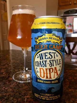 869. Sierra Nevada/Boneyard Beer - West Coast-Style DIPA