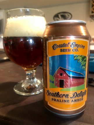 957. Coastal Empire Beer Co. - Southern Delight Praline Amber