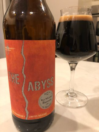 961. Deschutes - The Abyss 2015 Rye Whiskey Barrel Aged