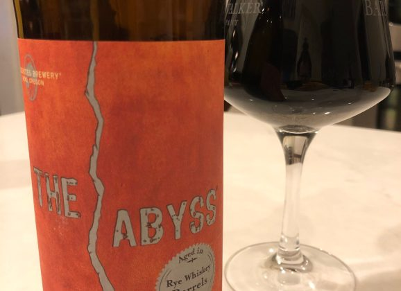 961.  Deschutes – The Abyss 2015 Rye Whiskey Barrel Aged