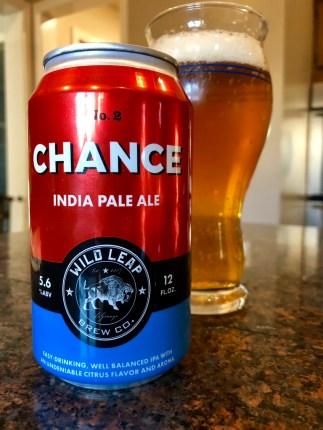 908. Wild Leap Brew Co. - Chance IPA