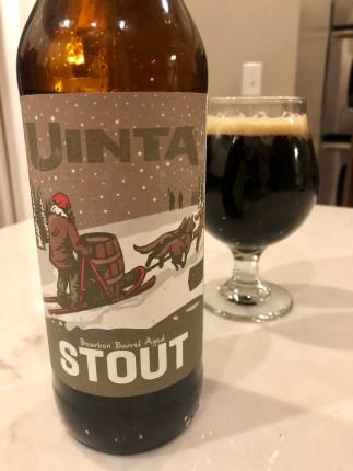 924. Uinta Brewing - Bourbon Barrel Aged Stout