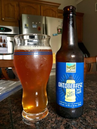818. Upland Brewing - Oktoberfest Bavarian Style Lager