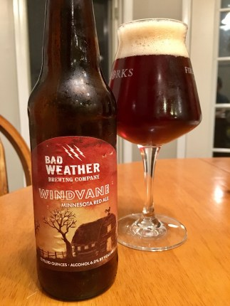 826. Bad Weather Brewing - Windvane Minnesota Red Ale