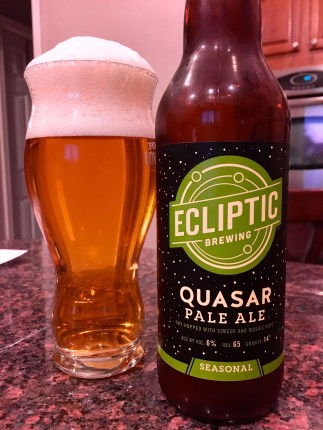 827. Ecliptic Brewing - Quasar Pale Ale