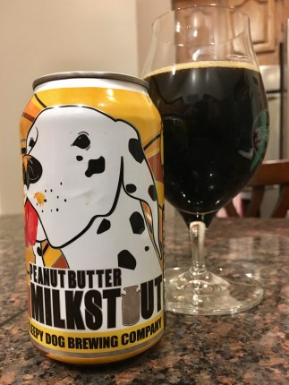 838. Sleepy Dog Brewing - Peanut Butter Milk Stout