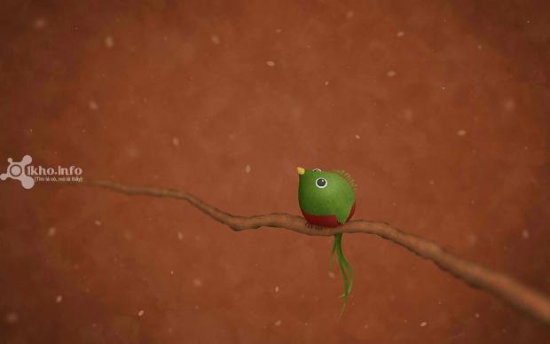 14.Green Bird