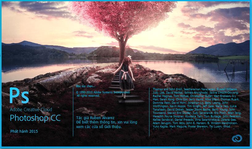 Download Photoshop CC 2015 Việt hóa đầy đủ