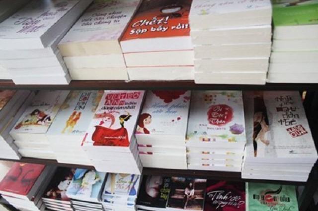 Danh sách tiểu thuyết ngôn tình đã được xuất bản ở Việt Nam
