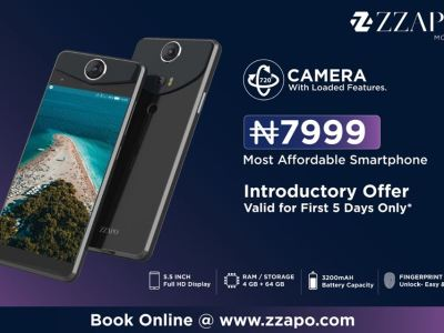Zzapo Mobile phone the most affordable smartphone in Nigeria 2019
