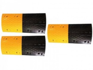 3m Rubber Traffic Speed Breaker Bump Hump with End