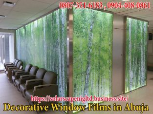 decorative window film in lagos