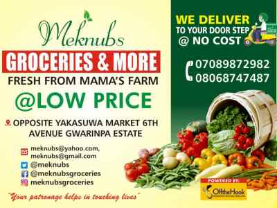 Fresh And Local Food Store In Nigeria