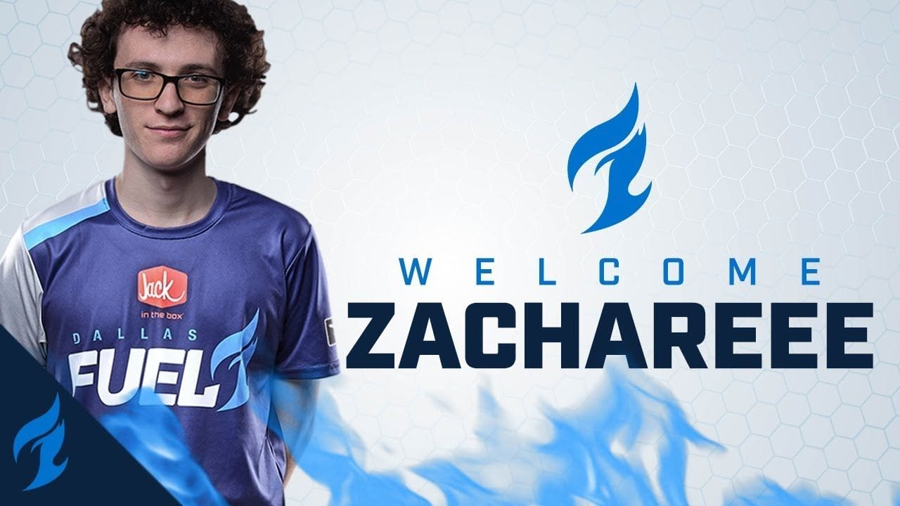 Overwatch BREAKING ZachaREEE Signed To Dallas Fuel The