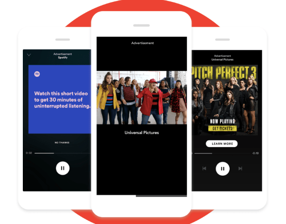 example of Spotify brand marketing