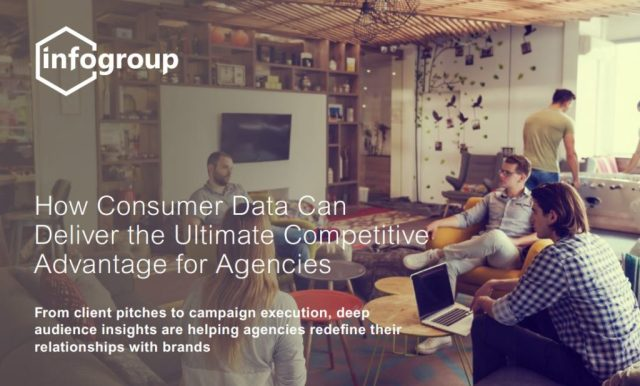 How Consumer Data Can Deliver the Ultimate Competitive Advantage for Agencies