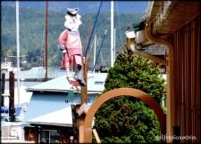 hanging sailor