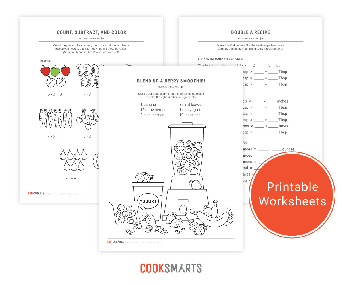 Fun Activities With Math Do Exist Free Printable Cooking
