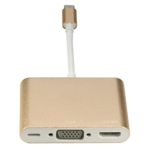 Type C 3.1 To OTG+HDMI+USB3.0