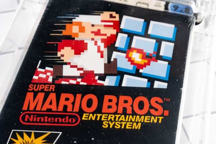 A classic Super Mario game sold for $2 million? It's a collector's world!