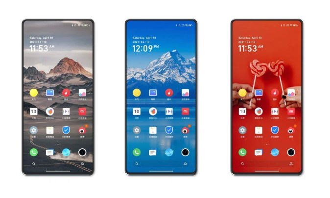 Xiaomi Mi Mix 4 screen the first phone of its kind with a full screen and the most powerful processor in the world