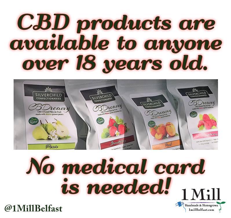 Maine CBD products