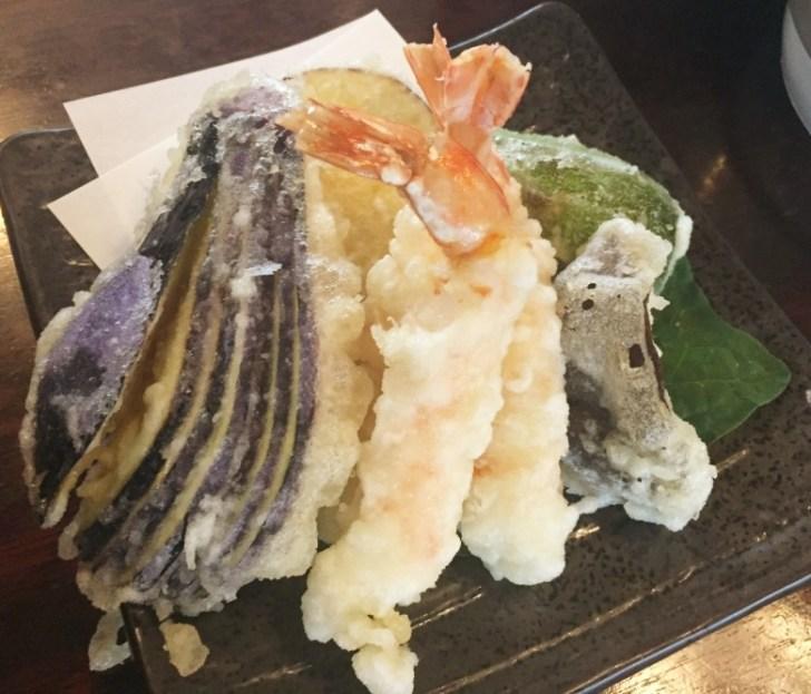 車海老と野菜天ぷら