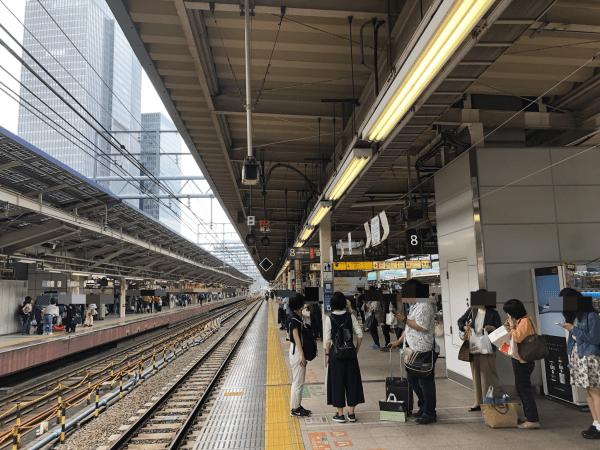 東京駅8番線ホーム